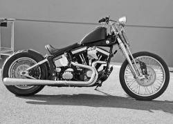*SFT-657F* Softail 2>1 with Megaphone Muffler